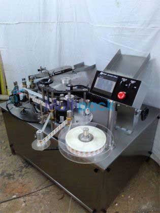 Ampoules And Vials Sticker Labeler Machine
