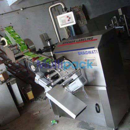 Automatic Tube Sticker Labeler Machine