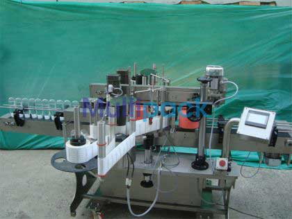 Double Side (front And Back) Sticker Label Applicator Machine
