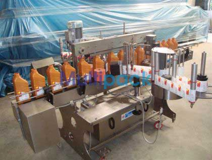 Front and Back Labelling Machine - Front & back labeler machine