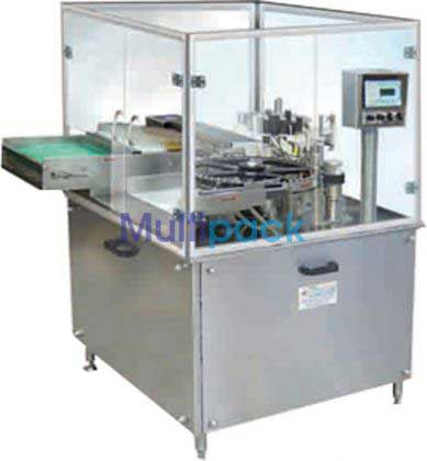High Speed Sticker Labeling Machine For Vials