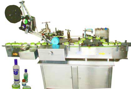 Top And Side Sticker Labelling Machine, Top / Side Labelers