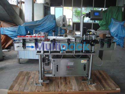 Jar Sticker Labelling Machine