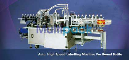 Hot Melt Glue Labeling Machines - Bopp Labeler