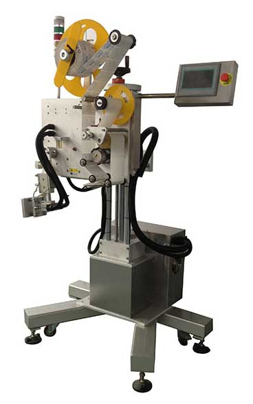 Blow Label Applicator, Tamp Blow Label Applicator With Mechanical Arm Surface Labeling Directly