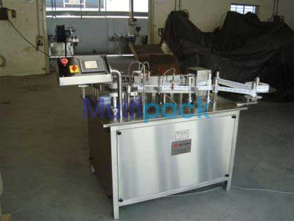 Rotary Self Adhesive Sticker Labelling Machine For Ampoules And Vials