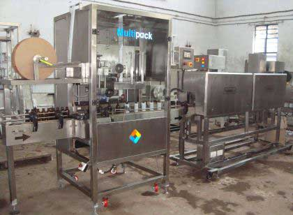 Shrink Sleeve Label Applicator Machine With Tunnels - SLEEVE LABELER