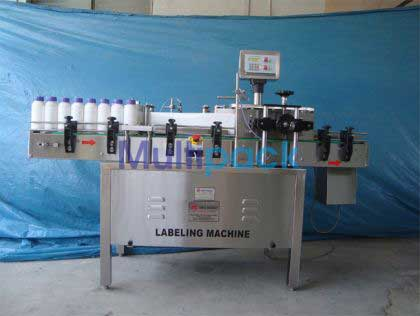 Sticker Labeling Machine For Pesticide, Agro Chemical